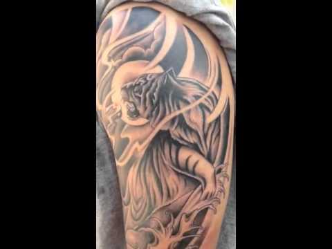 Japanese Tiger Tattoo Devil Z Tattooz Youtube