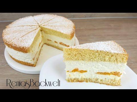 Käse-Sahne-Torte Einfach & Lecker