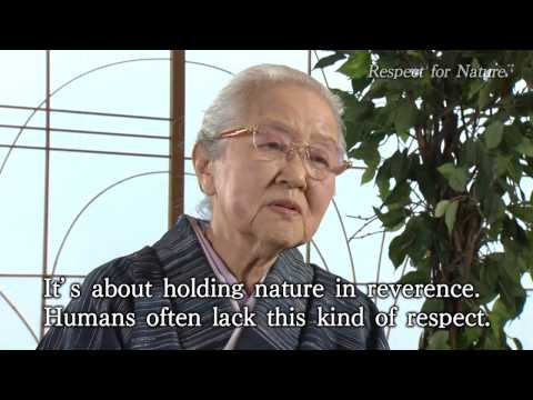 Message from Ms. Fukumi Shimura - The 2014 Kyoto Prize Laureate