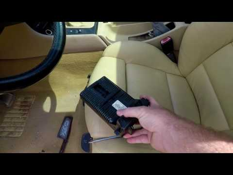 BMW E46 Headlights Not Turning Off Or Not Working? Light Control Module LCM  Replacement