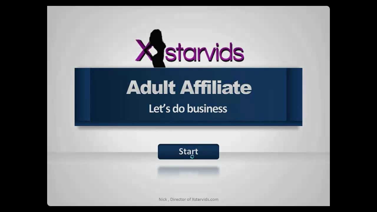 Adult affiliate site