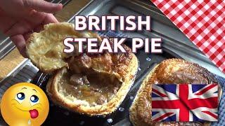 How to Bake British Steak Pie
