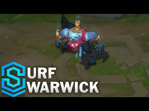 Urf the Manatee Warwick (2017 Rework) Skin Spotlight - Pre-Release - League of Legends