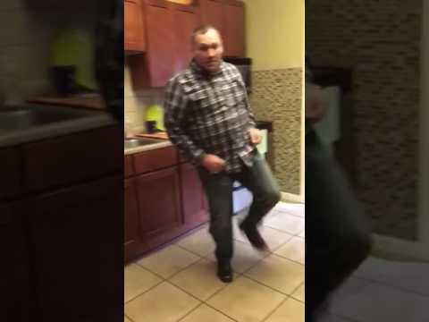 Dancing dad splits his pants