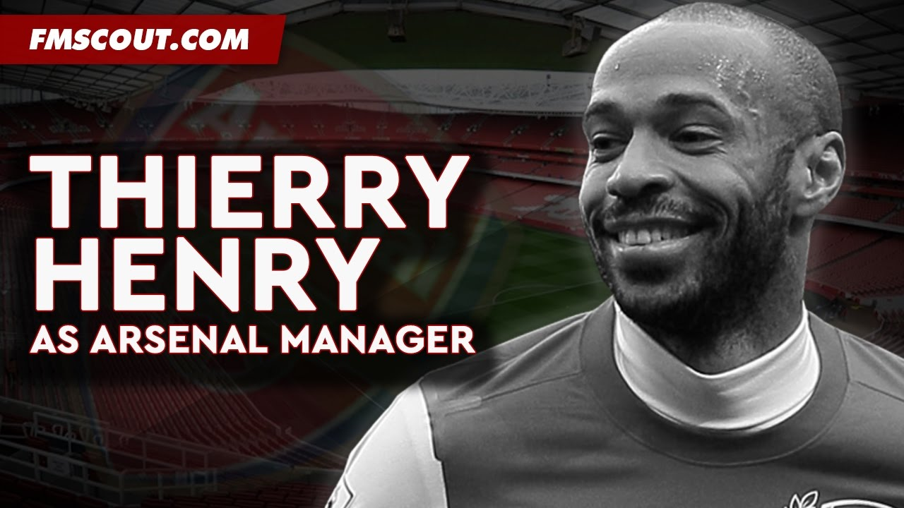 Thierry Henry As Arsenal Manager Football Manager