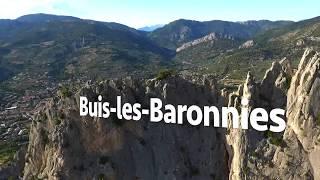 Buis-les-Baronnies vu par drone