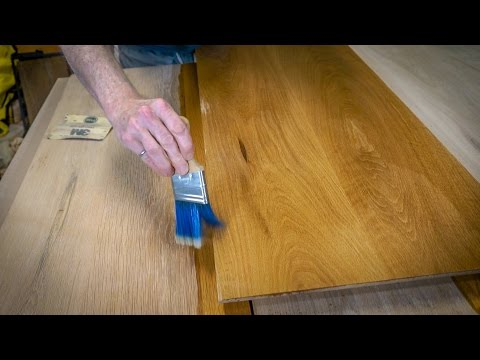 How to Age Wood and Refinish an old Kitchen Table