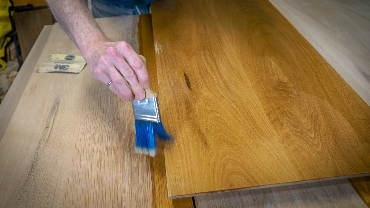 Old Kitchen Table How to age wood and refinish an old kitchen table youtube how to age wood and refinish an old kitchen table workwithnaturefo