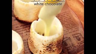 棉花糖竟然可以當杯子!1分鐘超夢幻棉花糖料理!|C CHANNEL