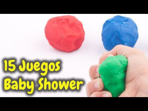 15 Juegos Muy Divertidos Para Baby Shower Hd Youtube