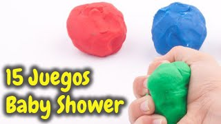 15  Juegos Muy Divertidos para Baby Shower HD