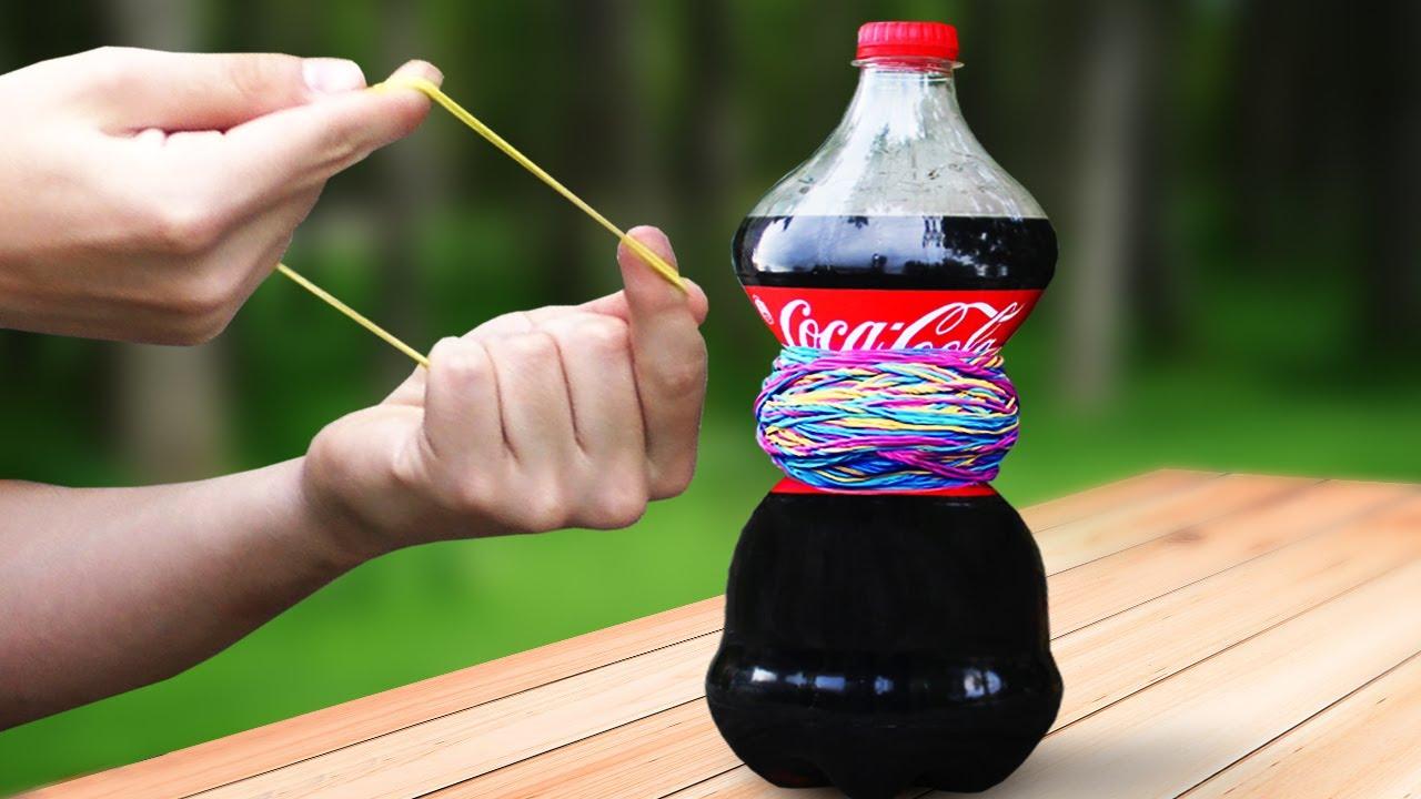 EXPERIMENT Coca-Cola VS 1000 Rubber Band