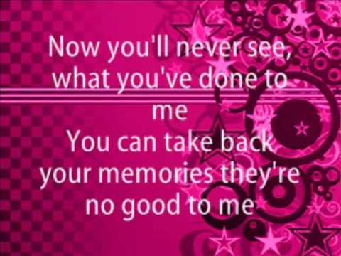 All American Rejects- Gives You Hell Karaoke Version With Lyrics