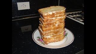 Гренки с яйцами. Когда голоден, но нет времени / Toast