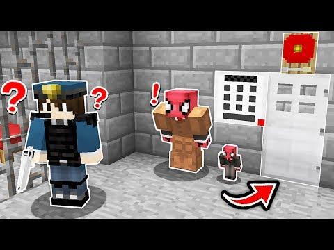 FAKİR TEHLİKELİ POLİS HAPİSHANESİNDEN KAÇIYOR! 😱 - Minecraft