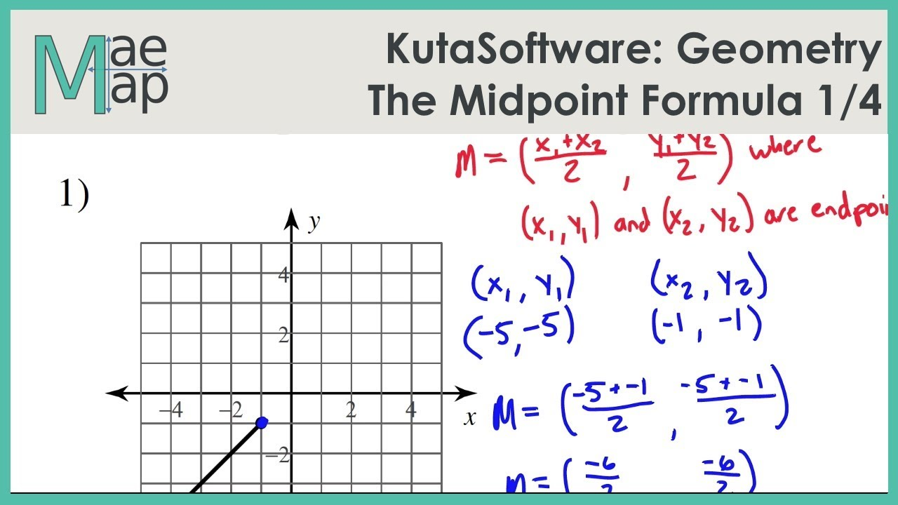 KutaSoftware: Geometry- The Midpoint Formula Part 1