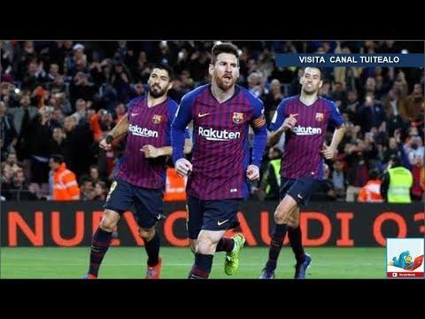 El Barcelona remonta ante el Rayo y mantiene el paso triunfal