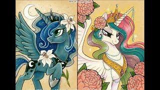 принцесса Селестия и принцесса Луна