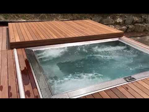 MARINE Inox stainless steel custom made and well insulated SPA