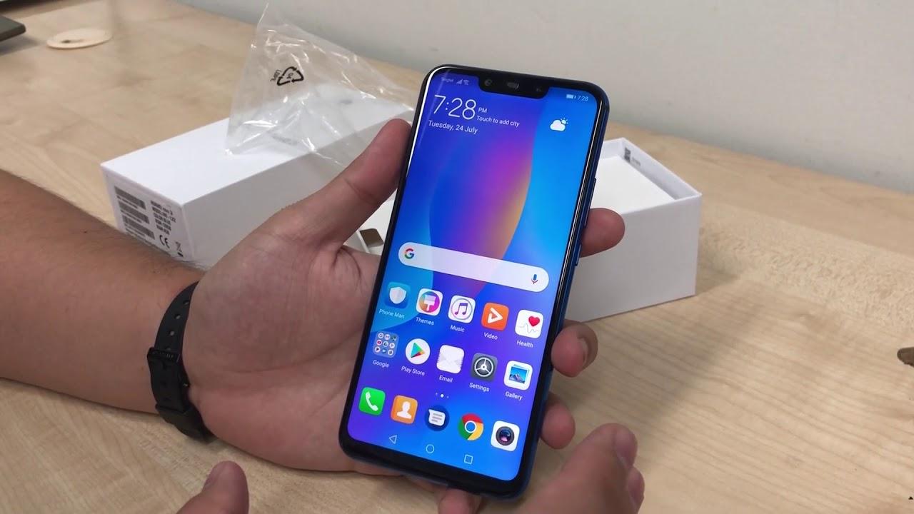 Unboxing Of Huawei Nova 3i Smartphone Youtube