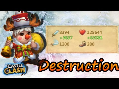 Lil-Nick Double Evolved Massive Destruction!!! -CASTLE CLASH