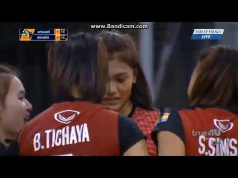 [Highlight Pimpichaya] Khonkaen Star vs 3BB Nakornnont