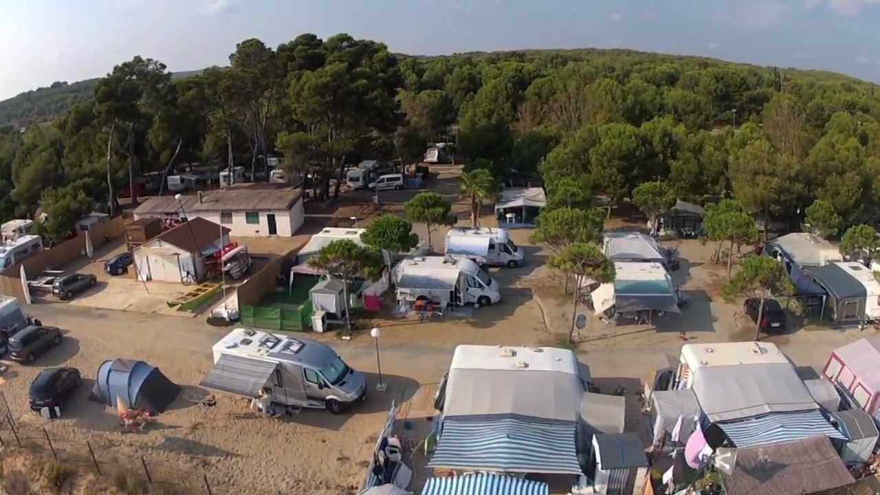 Camping las palmeras de tarragona desde el aire youtube - Camping interior tarragona ...