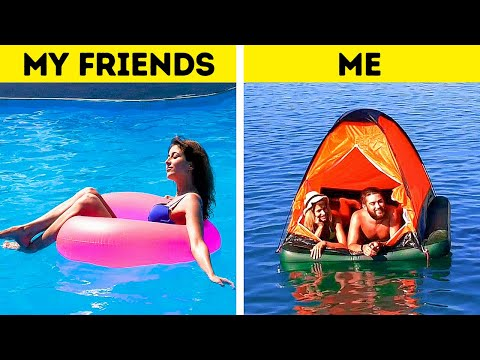 SUMMER FAILS    26 AWESOME LIFEHACKS FOR PERFECT VACATIONS