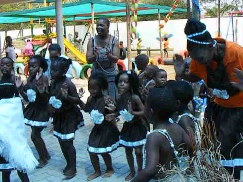 Botswana Pre-School Graduation - Traditional Dancing