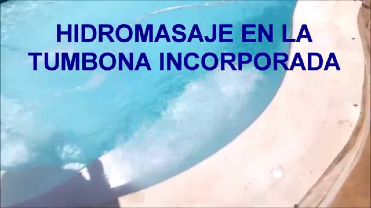 Barpool piscinas prefabricadas hidromasaje en tumbona for Piscinas prefabricadas