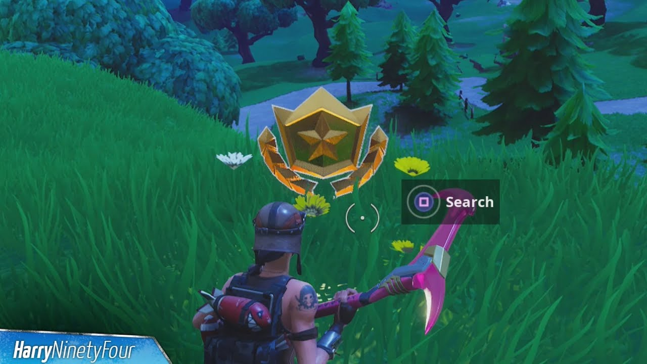 fortnite battle royale search where the stone heads are looking challenge guide season 5 week 6 - where the stone heads are looking fortnite