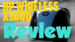 HP Wireless Mouse X3000 - Review