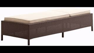 Strathwood Griffen All Weather Wicker Chaise Lounge