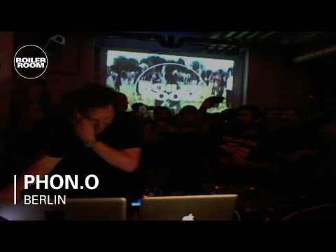 Phon.o live in the Boiler Room Berlin