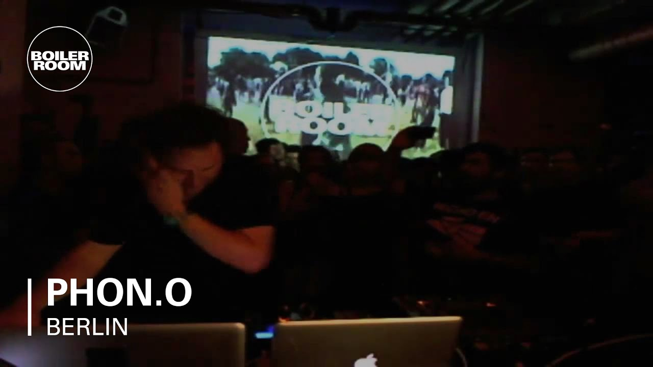 Phon.o live in the Boiler Room Berlin - YouTube