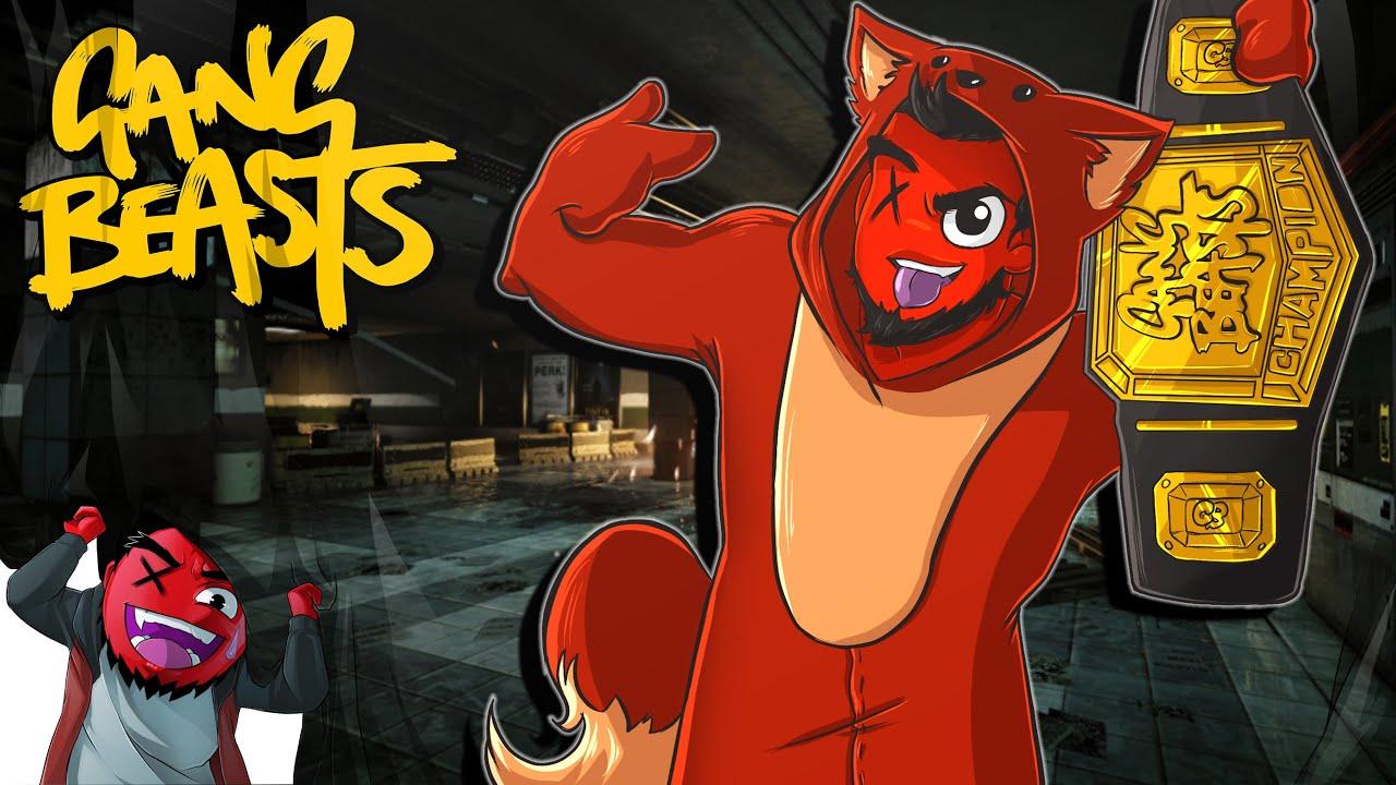 "Gang Beasts! | ""The CHAMPIONSHIP BELT is MINE!"" ( w/ H2O ... H20 Delirious Fan Art"