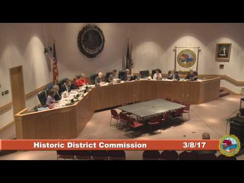 Historic District Commission 3.8.17