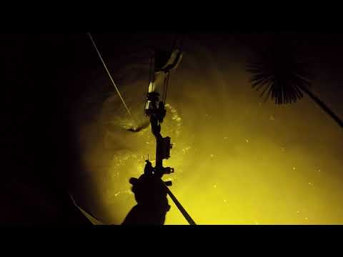 BOWFISHING WITH THE NEW 112 POUND THRUST! CRAZY VIDEO!