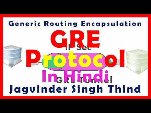 GRE Tunnel - Generic Routing Encapsulation Protocol - (Hindi)