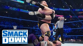 Heavy Machinery vs. Kevin Tibbs & Kip Stevens: SmackDown, Nov. 15, 2019