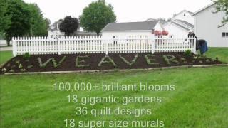 Weaver's Presents: The Amish Shadow Quilt Garden