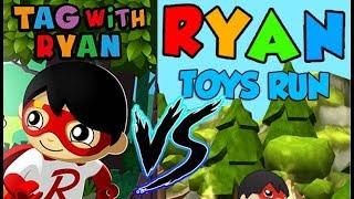 Tag with Ryan Vs Ryan Toys Run