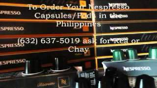 Nespresso coffee drinkers can now buy Nespresso Coffee Capsules in the Philippines