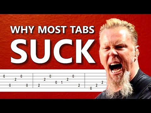 Why most guitar tabs SUCK and how to deal with that | Andriy Vasylenko