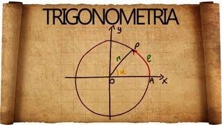 Trigonometria e Goniometria : Introduzione e angoli in Radianti
