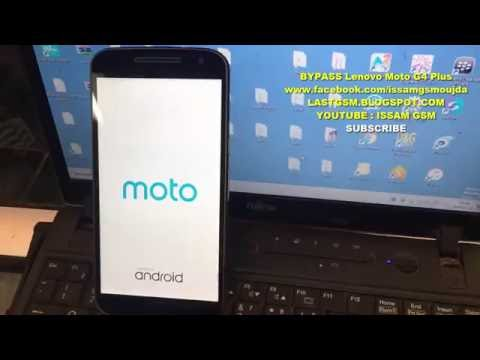 Lenovo Moto G4 Plus Bypass Google Account Remove Frp 2016