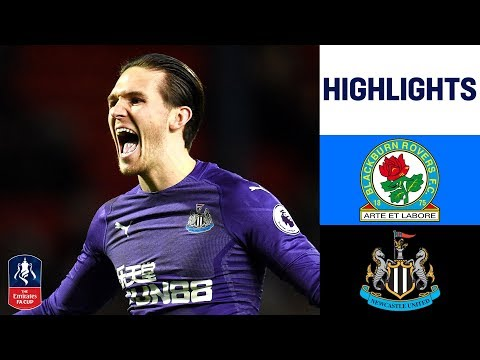 Two Extra Time Goals Seal Win | Blackburn 2-4 Newcastle | Emirates FA Cup 2018/19