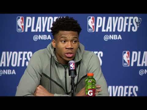 Game One Postgame: Giannis Antetokounmpo & Khris Middleton | 4.15.18