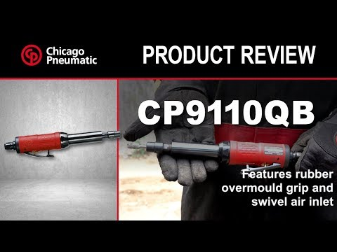Air Grinders Chicago Pneumatic 1/4 Extended Die Grinder CP9110QB Automotive Tools & Supplies