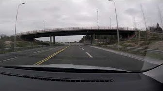 【4K】Inkeroinen to Kouvola and Driving Around Kouvola
